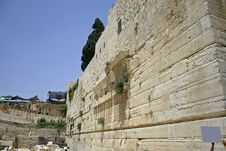 Free Wailing Western Wall Royalty Free Stock Images - 3303089
