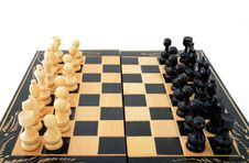Free Chess Table 1 Royalty Free Stock Image - 3303366