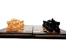 Free Chess Table 5 Royalty Free Stock Images - 3303379