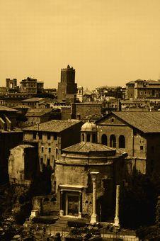 Free Ancient Rome Royalty Free Stock Photo - 3303395