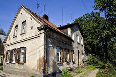Free Old Polish Houses Royalty Free Stock Photo - 3303565