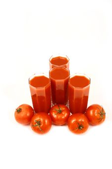 Free Tomato Juice Royalty Free Stock Photography - 3303567