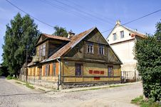 Free Old Polish House Royalty Free Stock Photography - 3303617