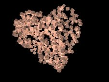 Free Abstract Heart. Stock Image - 3303931