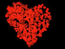 Free Abstract Heart. Royalty Free Stock Photography - 3303937