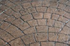 Free Block Pattern Walkway Royalty Free Stock Photos - 3304218