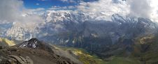 Free Panorama From Schilthorn Royalty Free Stock Image - 3304256
