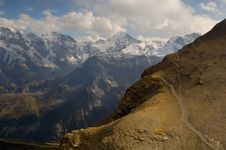 Free Peaks From Schilthorn Stock Photo - 3304320