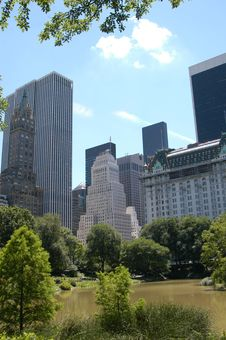 Free View From Central Park 5 Stock Image - 3304371