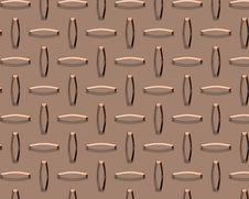 Diamond Plate Copper Royalty Free Stock Photos