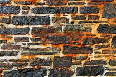 Free Rusty Stone Wall Royalty Free Stock Photo - 3304865