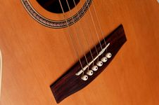 Free Closeup Details Of An Acoustic Stock Image - 3304881