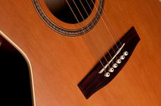 Free Closeup Details Of An Acoustic Stock Photography - 3304882