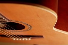 Free Closeup Details Of An Acoustic Royalty Free Stock Images - 3304889