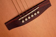 Free Closeup Details Of An Acoustic Royalty Free Stock Image - 3304896