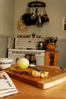 Free Preparing Pork Tikka Royalty Free Stock Image - 3304956