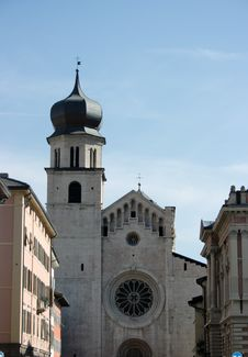 Treno Cathedral Stock Photography