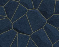 Stone Wall Pattern Dark Blue Royalty Free Stock Photos