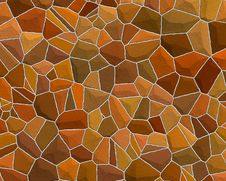 Free Stone Wall Pattern Brown Red Royalty Free Stock Images - 3305999
