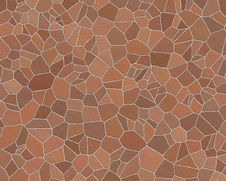Free Stone Wall Pattern Dark Red Stock Photo - 3306010