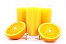 Free Juice Orange Stock Image - 3306361