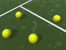 Free Tennis Balls Stock Photos - 3306563