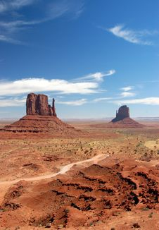 Free Monument Valley, Arizona Stock Image - 3308101