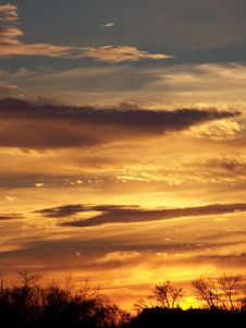 Free Gentle Sunset Stock Images - 3308214
