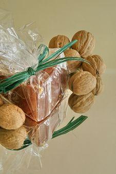 Free Nuts And Honey Stock Photos - 3308353