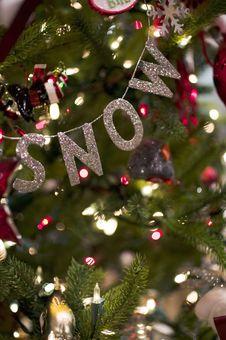 Free Christmas Decoration Stock Photography - 3308482