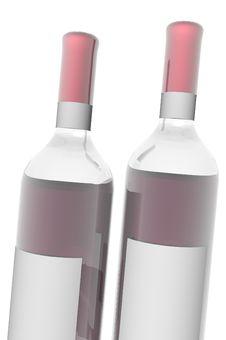 Free Bottles Royalty Free Stock Photo - 3308585