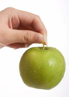 Free A Green Apple Stock Photos - 3308723