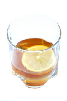 Free Cognac In A Glass Stock Photography - 3308752