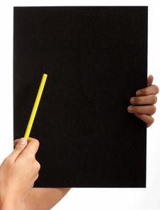Free Blank Board Royalty Free Stock Image - 3308826