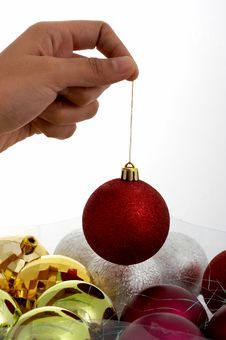 Free Christmas Balls Royalty Free Stock Images - 3308829