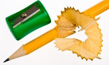 Free Colored Pencils Royalty Free Stock Image - 3309196