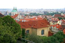 Free The Aerial View Of Prague Stock Photography - 3309232