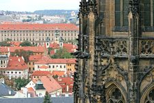 The Aerial View Of Prague Stock Images