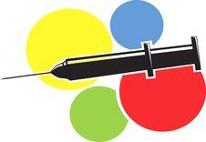 Free Syringe Royalty Free Stock Photo - 3309665