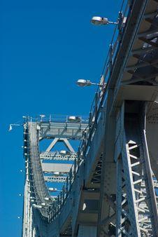 Free Storey Bridge Girders And Ligh Royalty Free Stock Image - 3309706