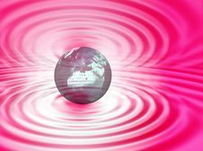 Free World On The Ripple Stock Images - 3309774