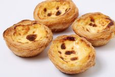 Egg Tart Royalty Free Stock Images