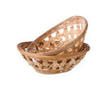 Free Wicker Basket Royalty Free Stock Images - 33001369
