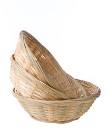 Free Wicker Basket Royalty Free Stock Image - 33001406