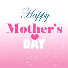Free Happy Mothers Day Card Stock Photos - 33001583