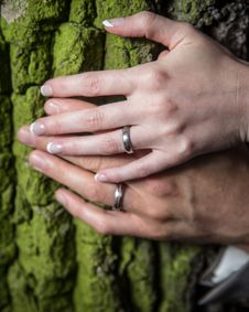 Free Wedding Rings Royalty Free Stock Photos - 33005588