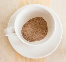 Free Instant Coffee. Royalty Free Stock Photography - 33006977