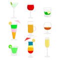 Free Cocktails Royalty Free Stock Photos - 33015118
