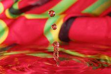 Water Figures, Splashing Water Royalty Free Stock Photos