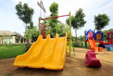 Free Children Playground Royalty Free Stock Photo - 33018565